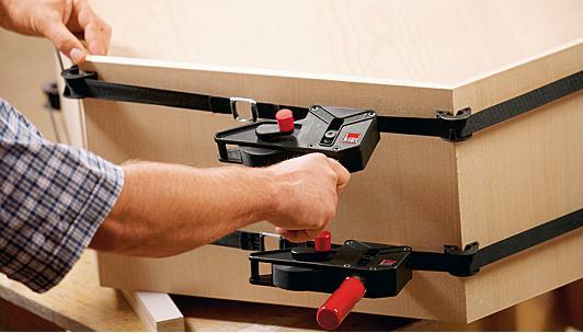 bessey bandspanner ban700 und ban400 die spannwerkzeug f r einfaches spannen ganz ohne verzug. Black Bedroom Furniture Sets. Home Design Ideas