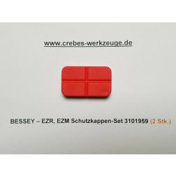 3101959 Schutzkappen-SET für Bessey Einhandzwinge EZM, EZR