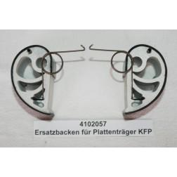 4102057 Druckbacken für Plattenträger KFP, inkl. Federn