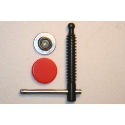 3101390-K Knebelgriff mit wechselbarer Druckplatte